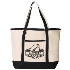 Football Mom Custom Tote Bag