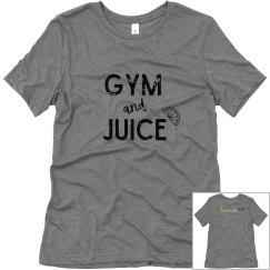 Gym & Juice Soft T-shirt (Black Text)