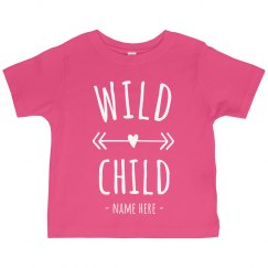 Wild Child Custom Toddler Tee