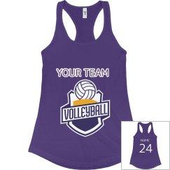 Volleyball Team Tank