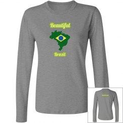 Beautiful Brazil Long Sleeve Tee