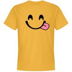 Emoji Big Smile Face Costume