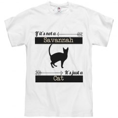 Snarky Savannah Cat -Unisex