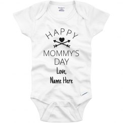 Customized 1st Mother's Day with Name