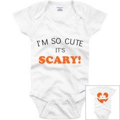 So Cute It's Scary Jack O' Lantern