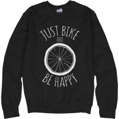 Bike And Be Happy Sweater