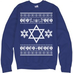 Star of David, Hanukkah Ugly Sweater