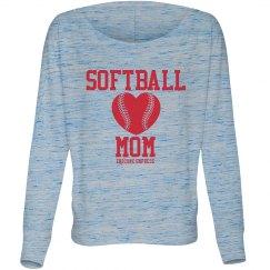 Softball Mom T-Shirt