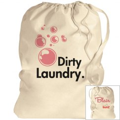 Personalized Girl's Laundry Bag