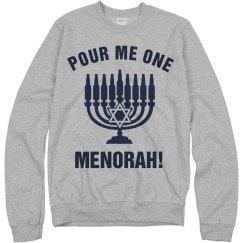 Funny Hanukkah Drunk