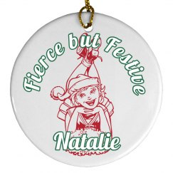 Fierce and Festive Cheerleader Holiday Gift