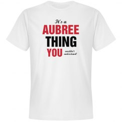 It's a aubree thing