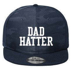 Flat bill Dad Hatter