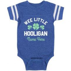 Wee Little Hooligan St. Pat Custom