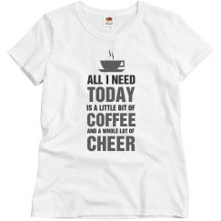 A little bit of coffee and a whole lot of cheer