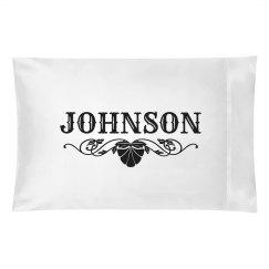 JOHNSON PILLOW CASE