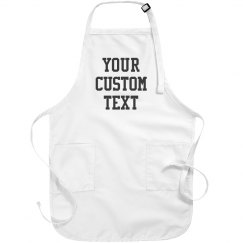 Your Custom Text Apron