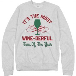 Wine-derful Time Of The Year Xmas