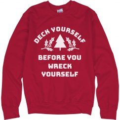 Deck Yourself Funny Christmas