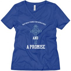 A Promise Ladies Relax Fit V-Neck