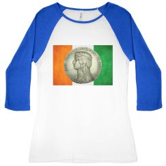Irish Flag and Coin