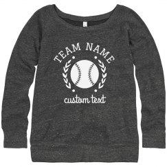 Softball Sweatshirts for the whole Team