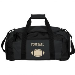 Football Design Duffle Bag