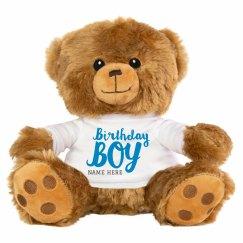 Baby Boy's First Bear