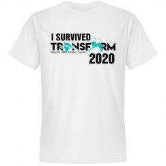I SURVIVED TRANSFORM 2020-white