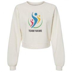 Women's Raglan Pullover Fleece