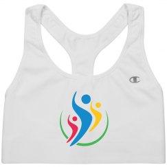 Brand Logo Sports Bra