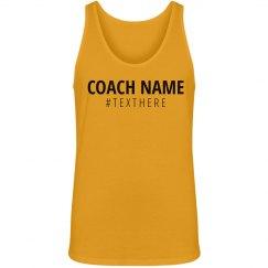 Coach Name Hashtag Tank