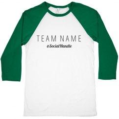 Team Name Social Raglan