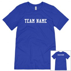 Team Name Coach Tee