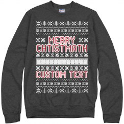 Merry Christmath Custom Sweater