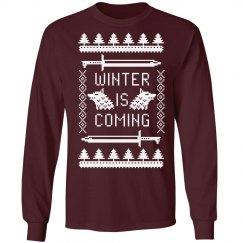 Trendy Winter Is Coming Design