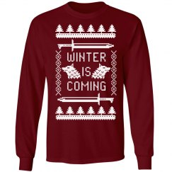Trendy Winter Is Coming Design