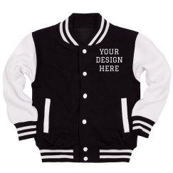 Custom Letterman Kids' Jacket
