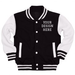 Custom Letterman Kids Jacket