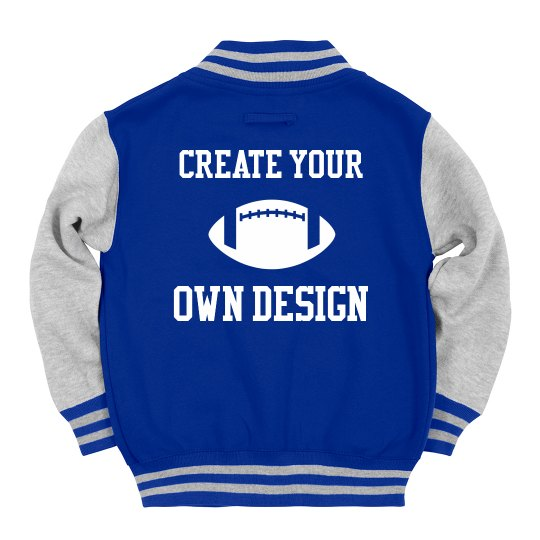 Create Your Own Kids' Varsity Jacket