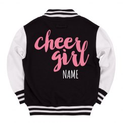 Kids' Custom Cheerleader Letterman