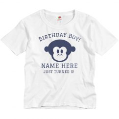Birthday Boy Monkey