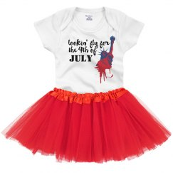 Lookin' Fly Fourth of July Dress