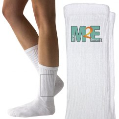 Move To Empower Youth Logo Socks