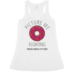 Funny Vacation Donut Floatie