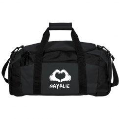 Custom Cheer Duffel Bag With Custom Name