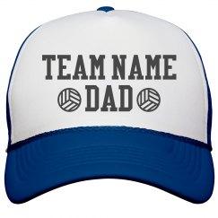 Volleyball Custom Dad Hat
