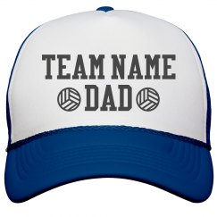 Volleyball Custom Dad Hat