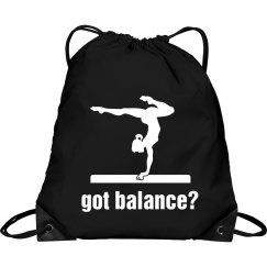Got balance drawstring ba
