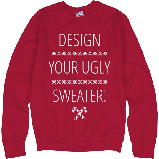 Ugly Christmas Sweater Design.Custom Ugly Christmas Sweaters